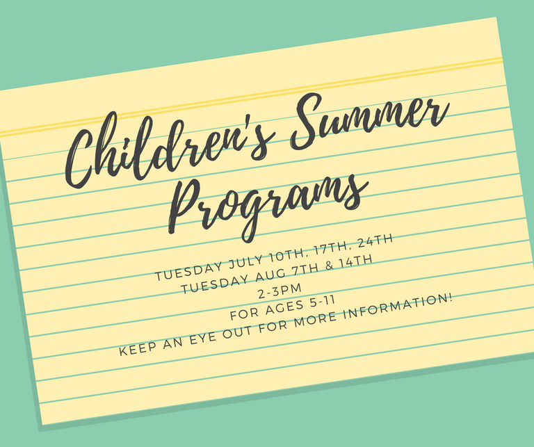 Children's Summer Program 2018.png